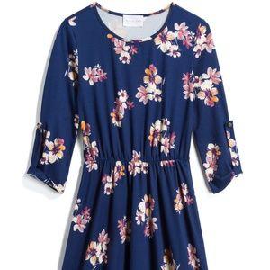 Stitch Fix Floral Knit Dress